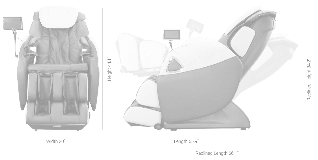 Ogawa Refresh Plus Massage Chair Specifications