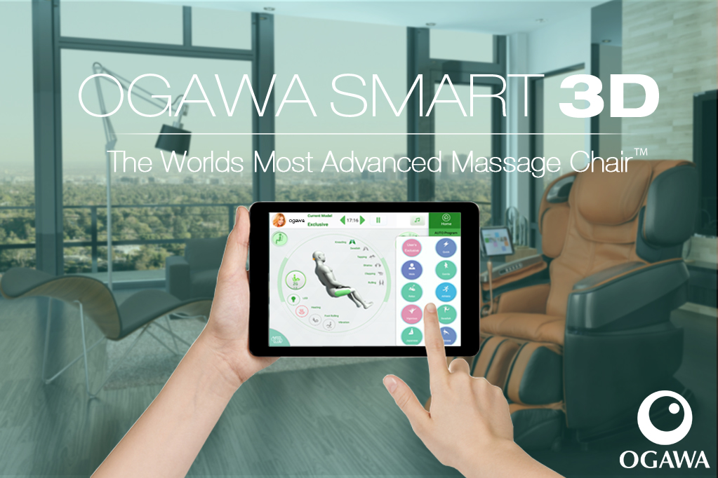 Introducing the Worlds Most Advanced Massage Chair - The Ogawa Smart 3D